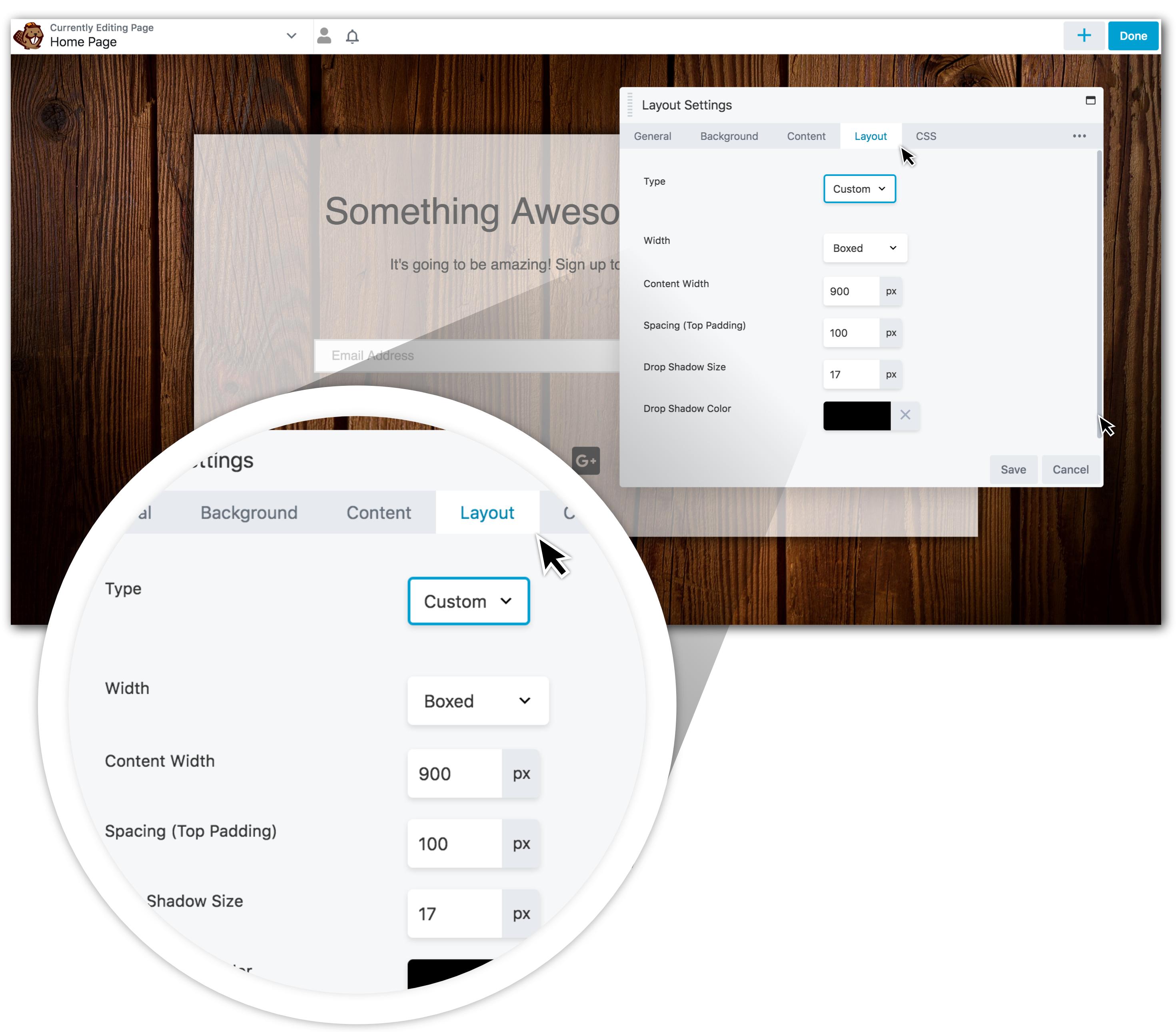 design-tabs